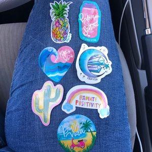Pura vida stickers